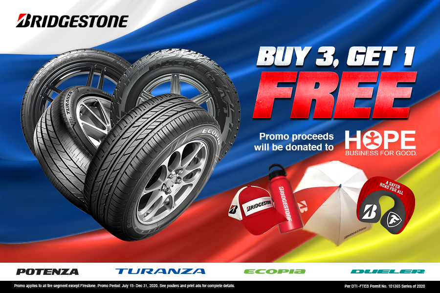Bridgestone 3+1 Promo: Recover Together Campaign