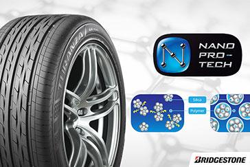 What is Bridgestone's Nano Pro-Tech Technology?