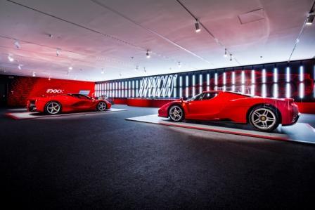 … the 2002 Ferrari Enzo (F140) and the 2016 LaFerrari (F150)…
