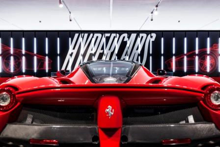There was also an exhibit of Ferrari Hyper Cars that include…