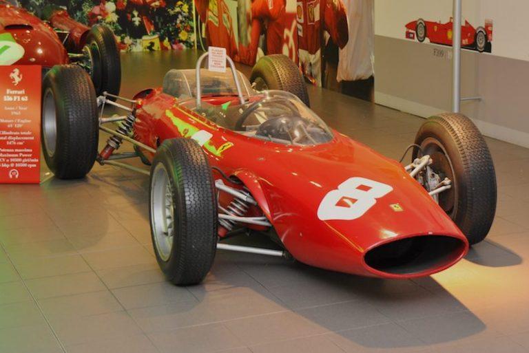 1963 Ferrari 156 F1 driven by John Surtees
