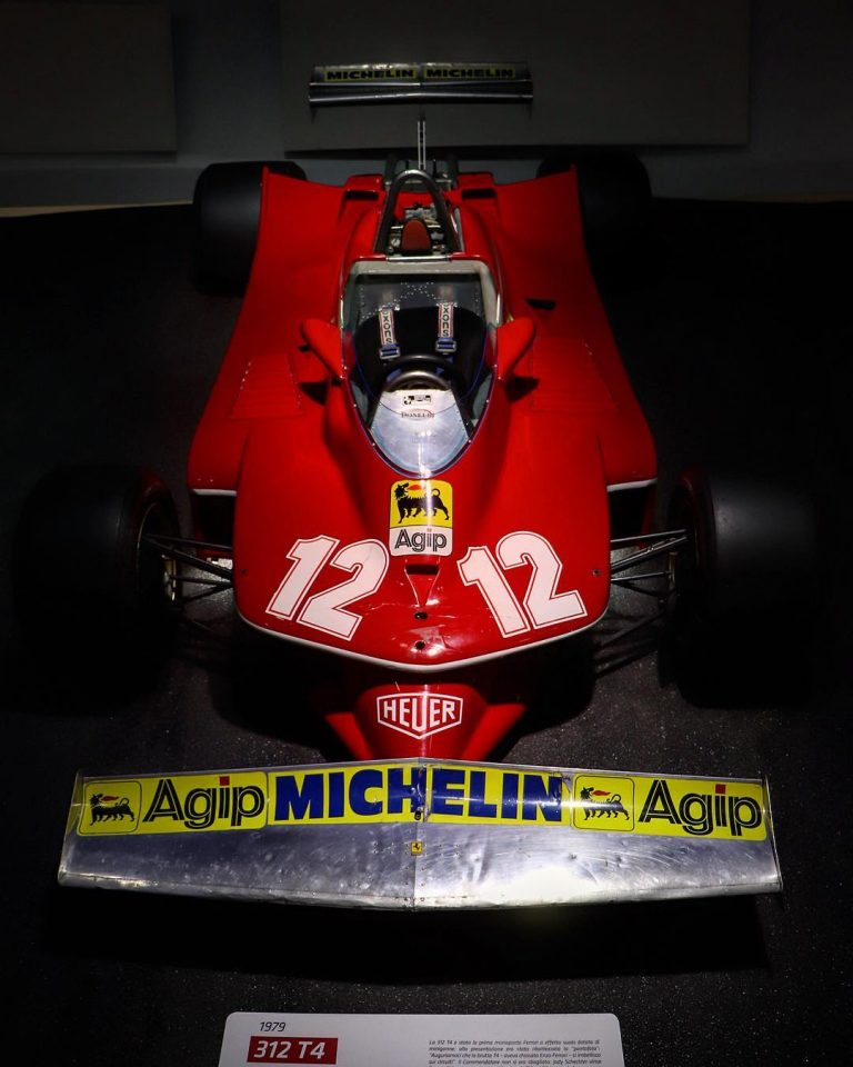 Ferrari paid tribute to Niki Lauda by putting the spotlight on his 1973 312 T.