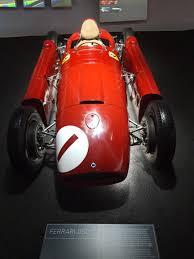 1956 Ferrari D50 driven by Juan Manuel Fangio